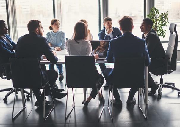 Meeting Sitzordnung