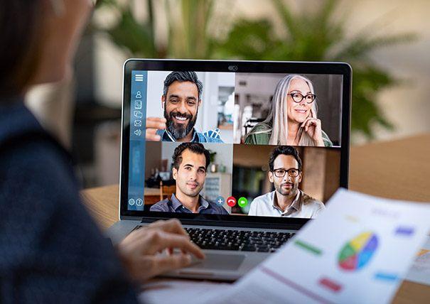 Online Teambuilding meetinn
